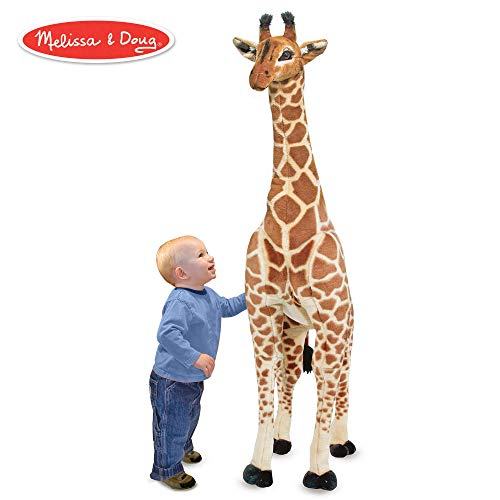 Lifelike Stuffed Giant Giraffe