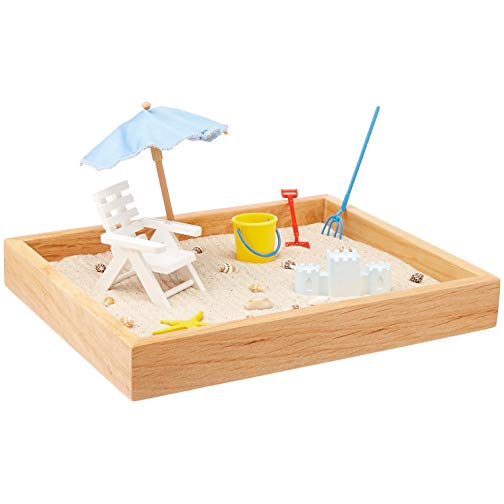 Mini Sand Garden will help him to relax