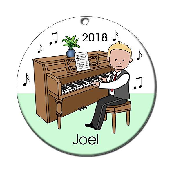 Piano Recital Personalized Ornament