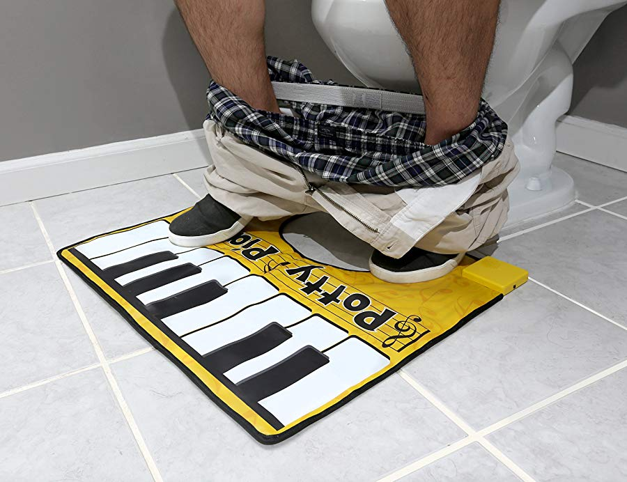 funny gifts to cheer boyfriend up Potty Piano