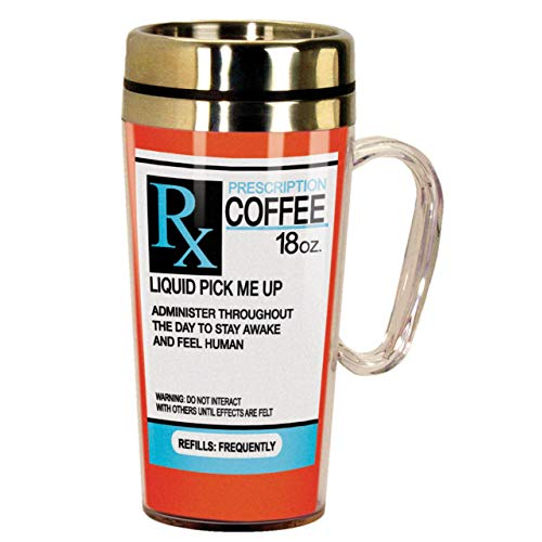 Prescription Insulated Travel Mug is a cool thing to get for a medical student