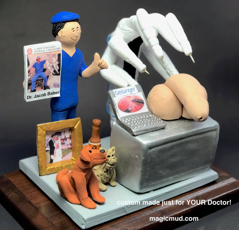 Reconstructive Surgeon's Custom Made Figurine