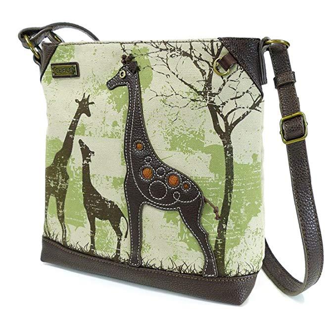 Safari Crossbody Messenger Bag