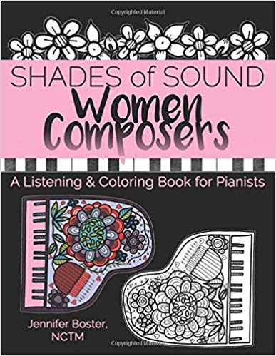 A Listening & Coloring Book for Pianists