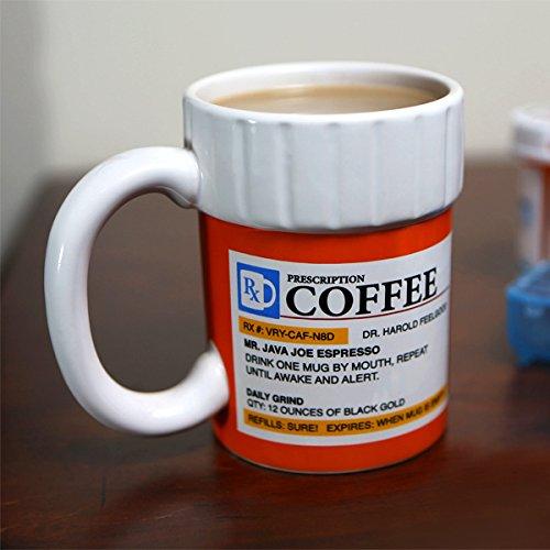The Prescription Coffee Mug a funny gift for pediatric nurse